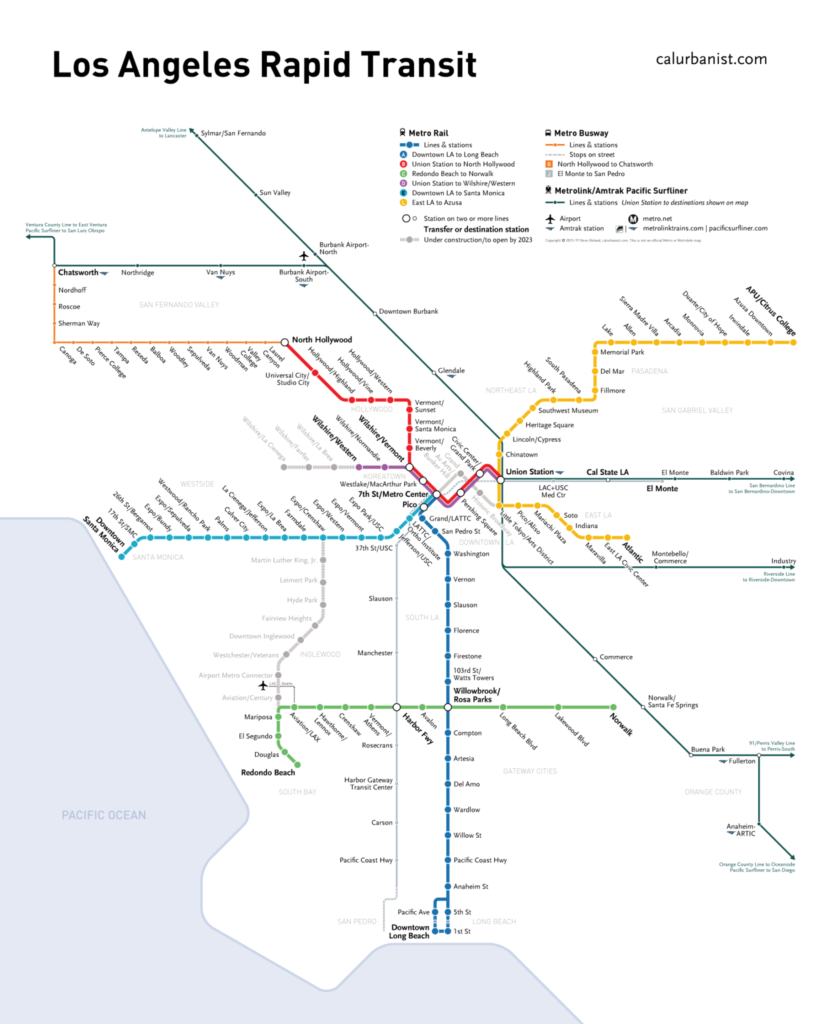 CalUrbanist  Transit Maps By CalUrbanist - Washington dc transit map pdf