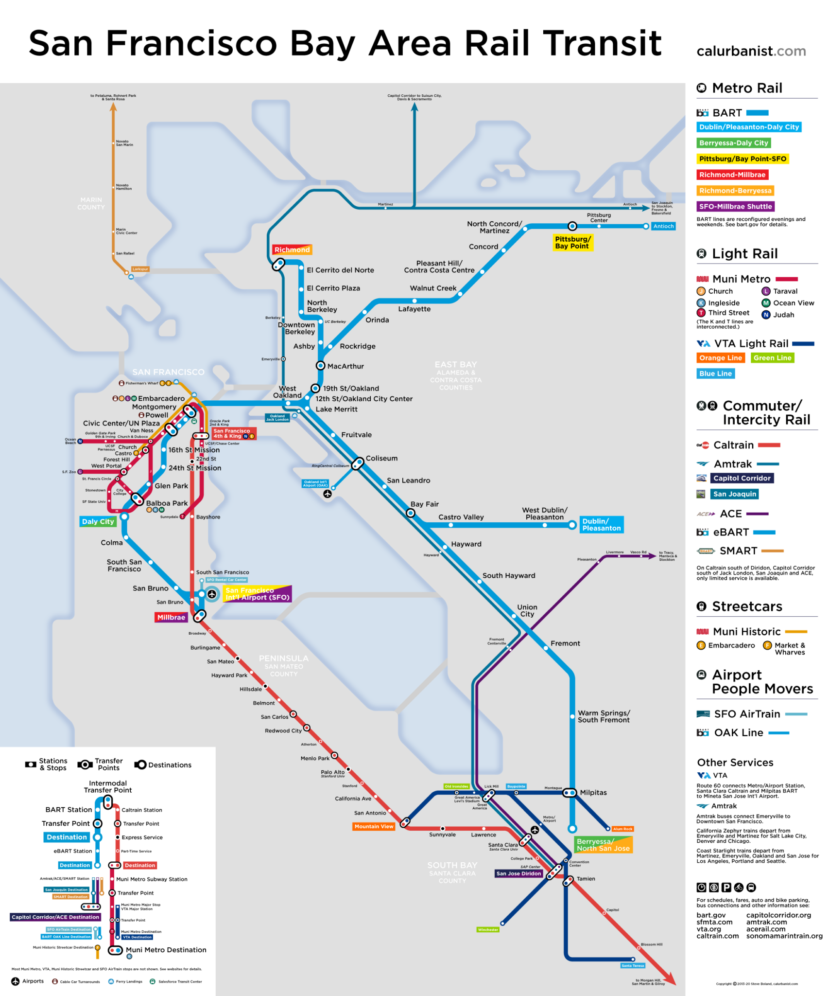 Dc Subway Map Pdf.Bay Area Rail Transit Maps Posters By Calurbanist